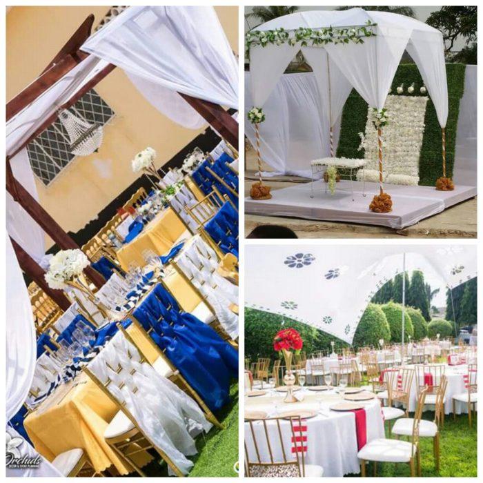Ghana Garden Wedding And Engagement Decorations Clipkulture
