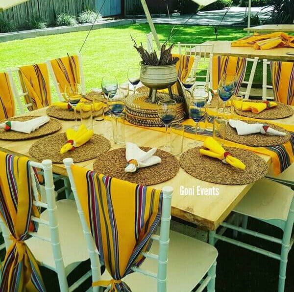 Yellow Venda Traditional Wedding Decor Clipkulture Clipkulture