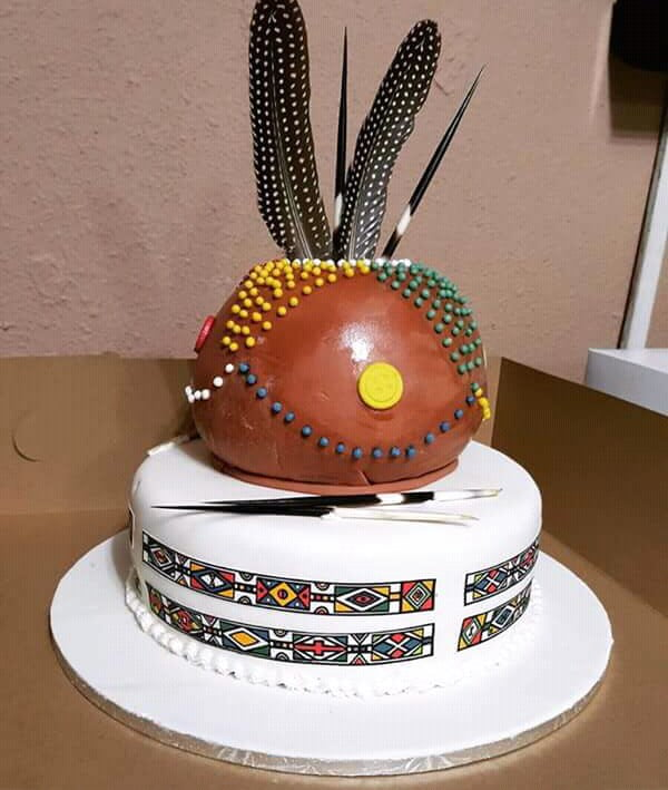 Ndebele Wedding Cake Design Clipkulture Clipkulture