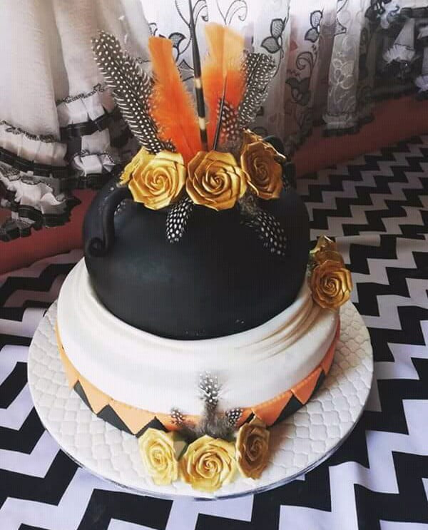 Zulu Calabash Traditional Wedding Cake Clipkulture Clipkulture