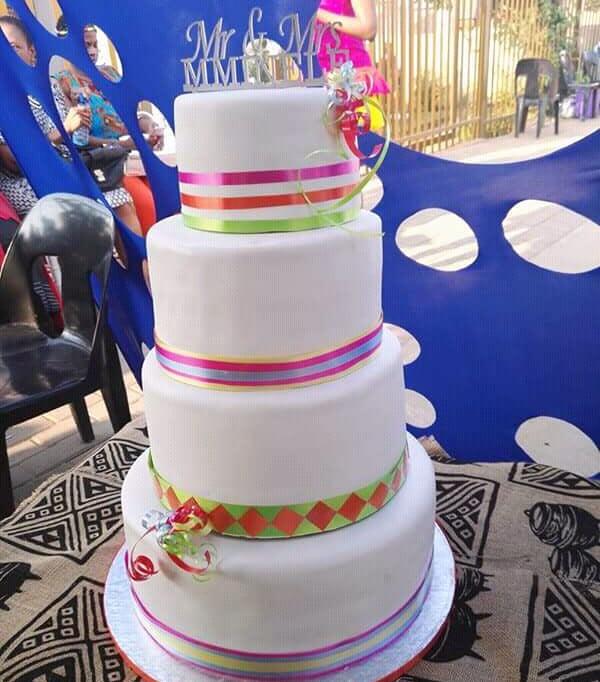 Beautiful Sepedi Traditional Wedding Cake Clipkulture Clipkulture