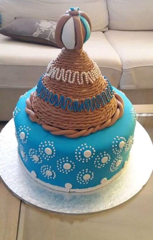 Sotho Traditional Wedding Cake – Clipkulture