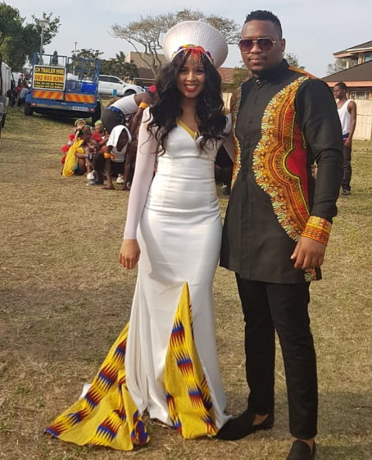 Celebrity Wedding Login: Umembeso Traditional Wedding Attire For Couples