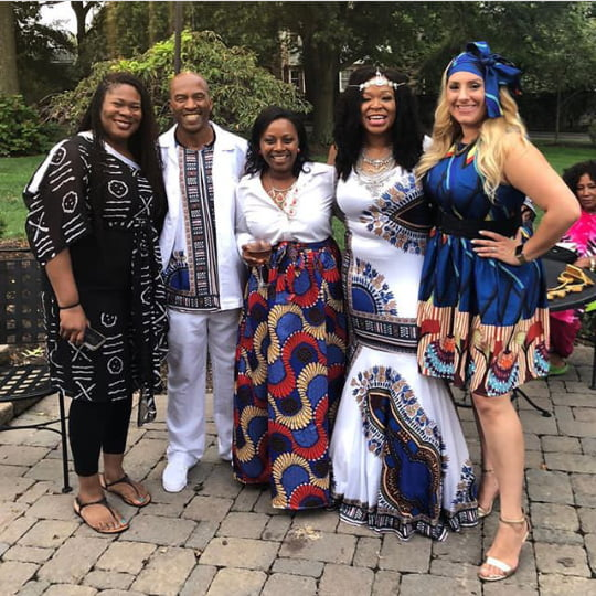 Couple In White Dashiki Umembeso Traditional Wedding Clothes