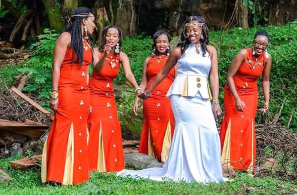 Kenyan Bride With Squad In Traditional Attire for Ruracio – Clipkulture