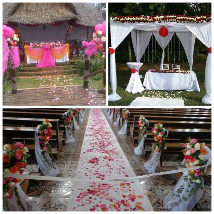 Church And Wedding Reception Decorations Clipkulture Clipkulture