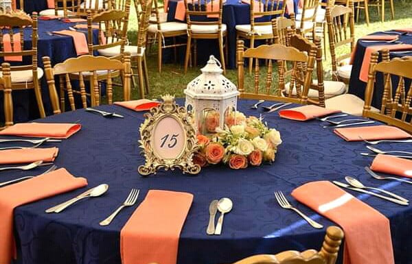 Navy Blue And Peach Wedding Decor Clipkulture Clipkulture