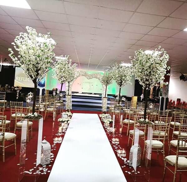 Simple Wedding Hall Decoration