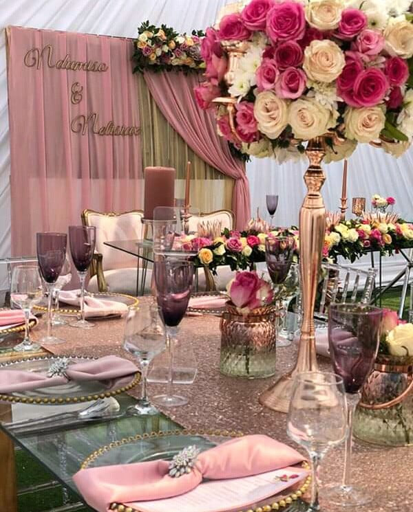 Modern Traditional Wedding Decor With Dusty Pink Theme Clipkulture