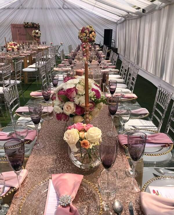 Southern Wedding Decoration Ideas: Modern Umembeso Table Decor