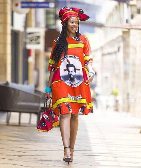 Lady In Ready To Wear Swati Emahiya Dress With Headwrap