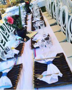 Black And White Table Decor For Umembeso Clipkulture Clipkulture