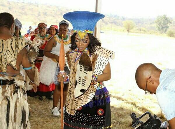 Makoti In Zulu Traditional Wedding Attire For Umembeso