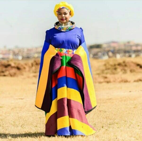 Makoti In Ndebele Traditional Wedding Dress And