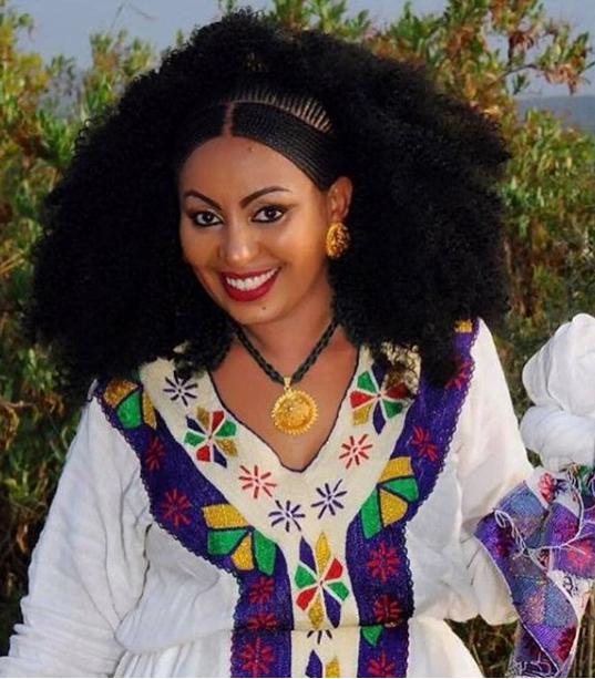 Wedding Hairstyles Ethiopian: Lovely Ethiopian Wedding Hairstyle - Clipkulture