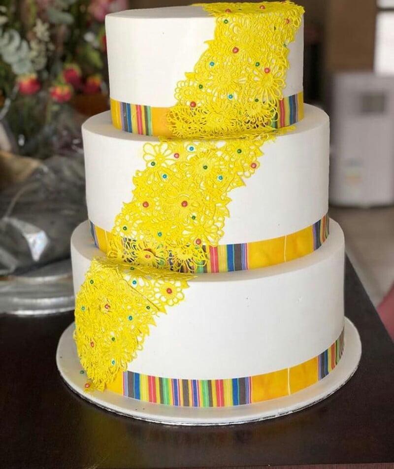 3-tier Venda Traditional Wedding Cake – Clipkulture