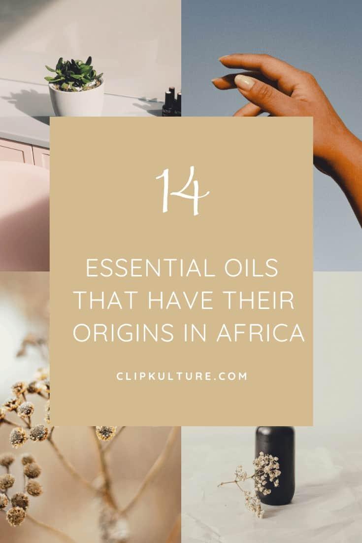 essential oils in africa