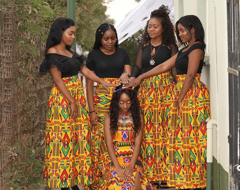 Modern African Dresses For Zimbabwe Roora Traditional Wedding – Clipkulture