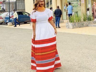 Habesha Kemis Maxi Dress