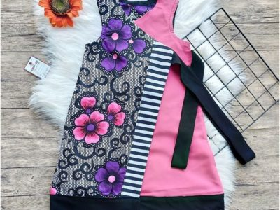 African Print Summer Dresses for Girls