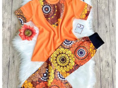 African Print Joggers for Kids (Unisex)