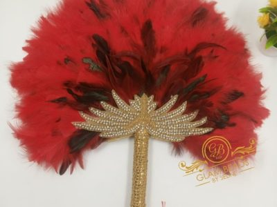 Bridal Hand Fans and Scepter