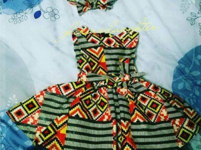 Order Ankara Dresses for Kids in Zambia
