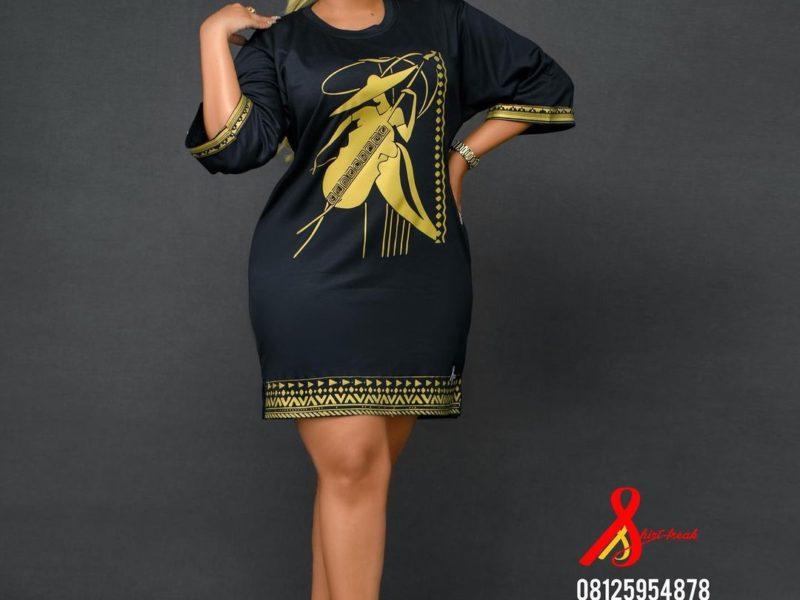 Ready to Wear African Shirt Dress