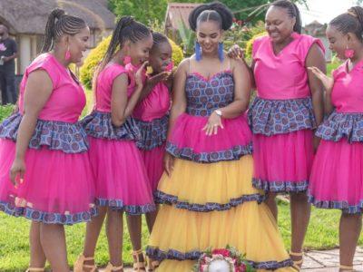Sepedi Traditional Wedding Dress